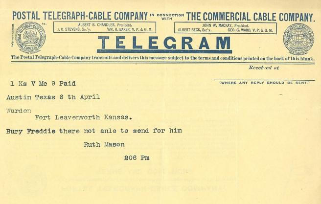Mason telegram