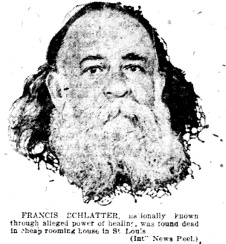 Francis Schlatter obit