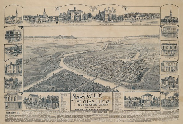 Marysville map