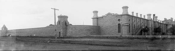 East cell block Nebraska State pen