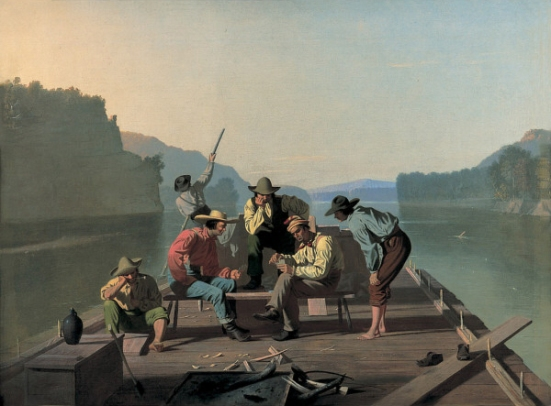 George_Caleb_Bingham_-_Raftsmen_Playing_Cards
