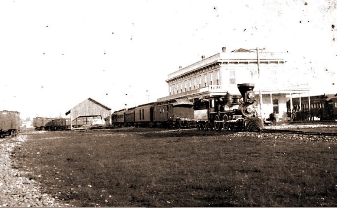 albany train depot