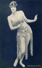 Burlesque dancer 1920s