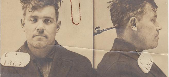Eastern State Penitentiary, vintage mugshot, vintage prisoner photo, crime, criminal
