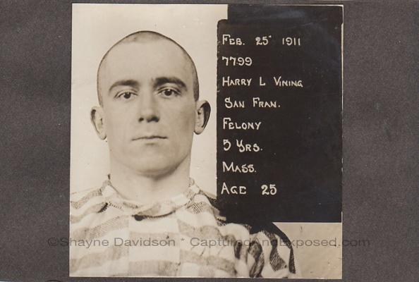 Harry L. Vining in stripes_marked
