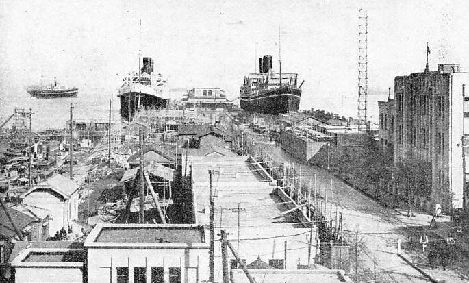 Yokahama port