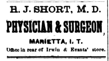 Dr. Short ad - Newspapers.com