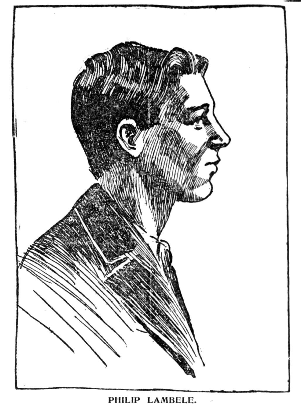 Drawing of Lambele - Newspapers.com