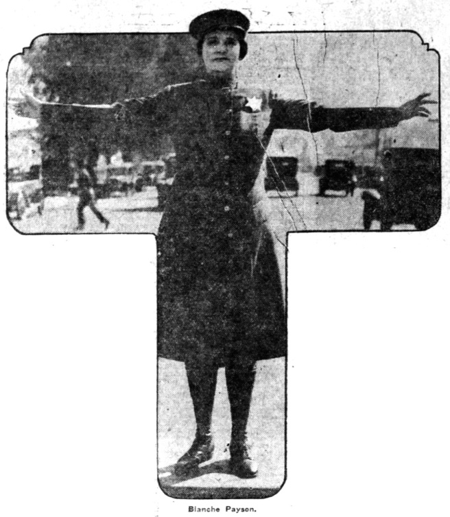 Blanche Payson advice (better photo) - Newspapers.com